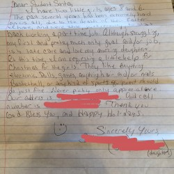Letter to Santa - Nominate